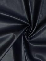 """Кожа на трикотажной основе """"Темно - синяя"""""""