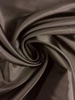 """Подкладочная вискоза, цвет """"Темно - коричневый"""""""