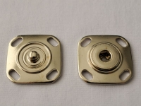 Украшение Декоративное УД-0019 Кнопка большая серебряная