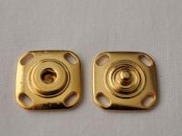 Украшение Декоративное УД-0020 Кнопка малая золото