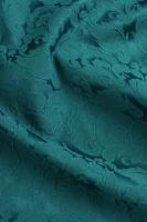 """Жаккард-стрейч """"Праздничный"""" изумрудно-зеленый"""