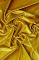 """Бархат на трикотажной основе """"Желтая горчица"""""""