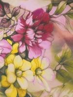 """Бифлекс """"Цветы на фоне хаки"""""""