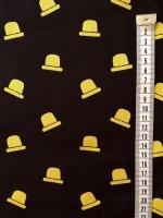 """Хлопок сорочечный """"Шляпы"""""""