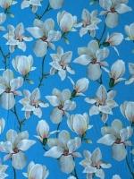 """Креп-стрейч """"Цветы весны"""""""