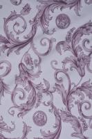 Ткань курточная ЗАВИТКИ Пыльная роза