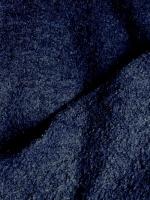 "Лоден буклированный ""Темно-синий"""