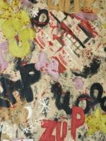 """Тафта подкладочная """"Цветное граффити"""""""