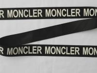 """Тесьма репсовая """"Логотип Moncler"""""""