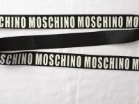 "Тесьма репсовая ""Логотип Moschino"""
