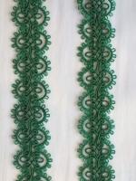 Тесьма зеленая ТД-0005