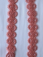 Тесьма розовая ТД-0007