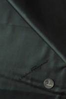 """Вискоза подкладочная именная """"Salvatore Ferragamo"""" темно-еловая"""