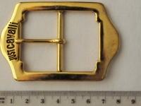 Украшение Декоративное УД-0027 Пряжка для одежды Средняя золотистая