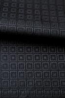 """Жаккард """"Кубики плетеные"""" темно-синий"""