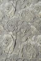 """Жаккард """"Объемные розы"""" жемчужный"""